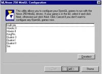 MiniGL Config