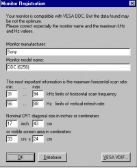 Monitor Registration