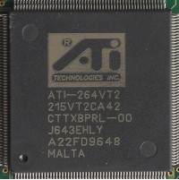 ATi mach64 VT2 core
