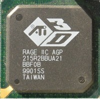 ATi Rage IIC GPU