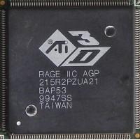 ATi Rage IIC AGP core