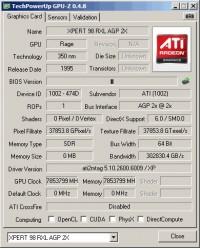 ATi Rage XL GPU-Z